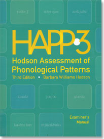 ATP: Hodson Assessment of Phonological Patterns - Third